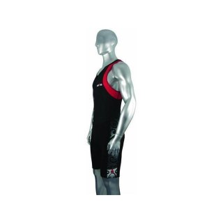 Ironman Triathlon  Einteiler Tattoo  schwarz