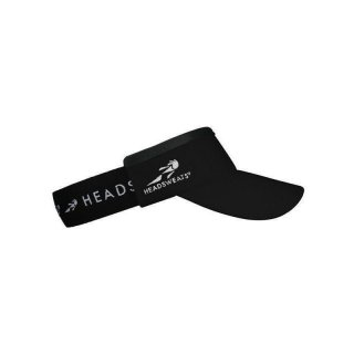 HEADSWEATS Race Supervisor mit integriertem Frotteband Rot