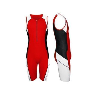 Triathlon Einteiler Newline Speed II  Korallenrot XL
