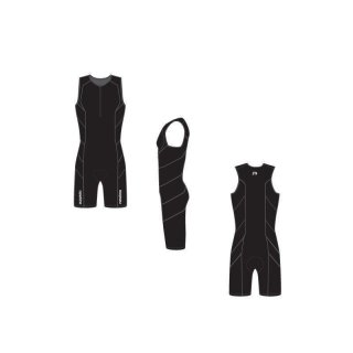 Triathloneinteiler Newline Black Edition light Compression XL